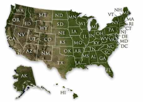 Mapa de la poesía norteamericana