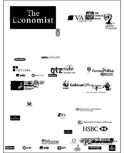 Imagen de The Economist del proyecto One Page Magazine de Joseph Ernst