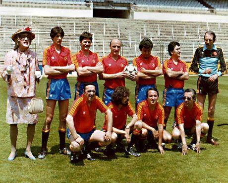 La selección espanola de futbol