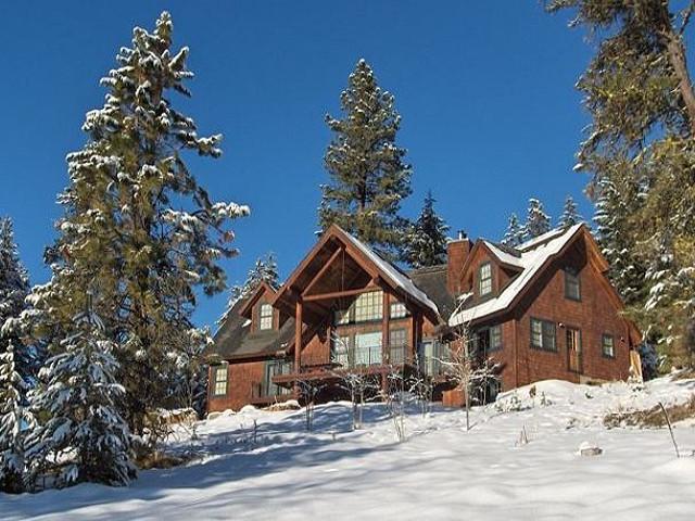 Serenity Lodge  McCall Idaho vacation cabin rental 1