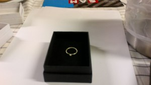 Little ball ring Large