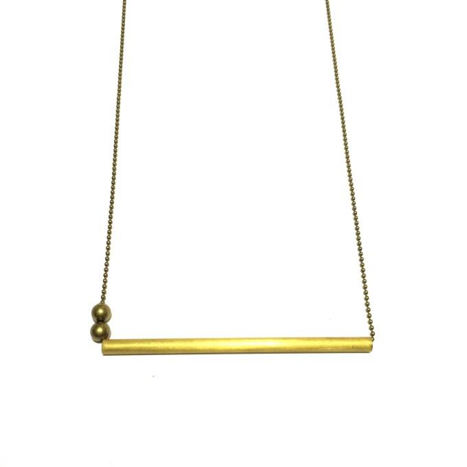Big Bar & Beads necklace