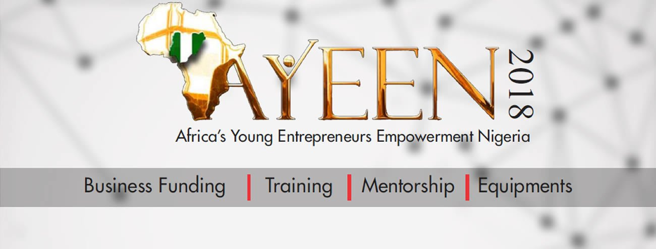 AYEEN 2018 Registration – Raising Africa's Young Entrepreneurs