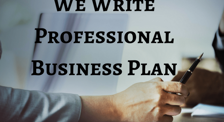 Professional business plan writing services