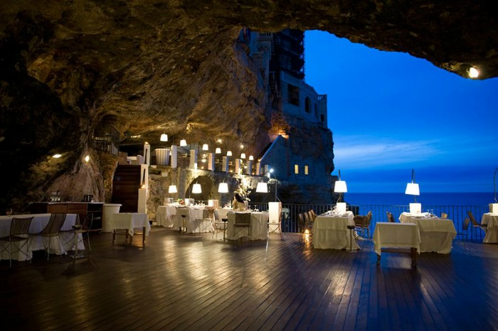 Romantic Terrace overlooking the Sea  Apulia Hotel wedding venue near Bari Italy
