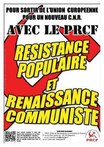 Lettre ouverte des militants du PRCF aux militants du PCF, section française de la Gauche européenne