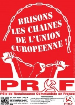 BRISONS LES CHAINES DE L UNION EUROPEENNE