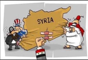 SYRIE : quand les pyromanes impérialistes crient de nouveau au feu !