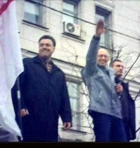 UKRAINE : la crise aiguë du pouvoir pronazi d'euroMaidan
