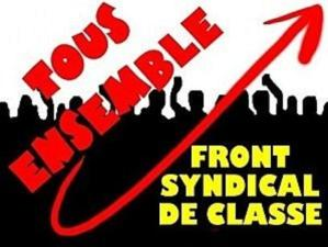 Face au blitzkrieg annoncé par les Fillon, Valls, Macron et autre Le Pen, l'appel à la résistance des syndicalistes du FSC