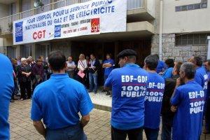 Les travailleurs de l'Energie en grève ce 21 janvier ! Exigeons un pôle 100% public de l'Energie ! #EDF #GDF #suez