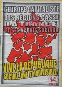 Affiche UE casse FRANCE