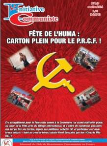 A lire dans Initiative Communiste n 149 – octobre 2014