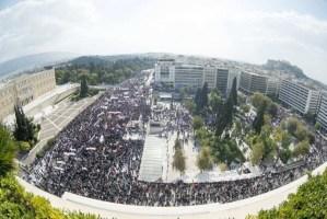 Enorme manifestation à Athènes à l'appel du PAME – 1er novembre