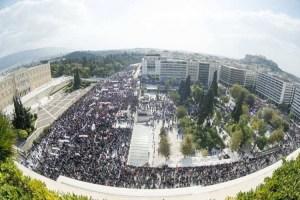 Athènes manifestation PAME