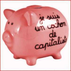 cochon de capitaliste