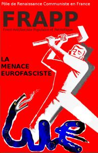 PRCF serpent fasciste 2 FRAPP eurofascsime front populaire