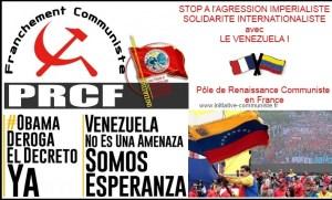 Campagne de solidarité avec le Venezuela #obamaderogaeldecretoya