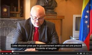 Le Venezuela dénonce l'agression grave par les USA #Vidéo [interview de l'ambassadeur du Venezuela auprès de l'UE]
