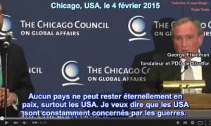 Vidéo VSTFR : George Friedman (STRATFOR) dévoile les plans de l'impérialisme US pour contrôler l'Europe !