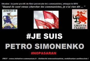 Ukraine : Nous sommes tous Petro Simonenko ! #liberté #antifascisme