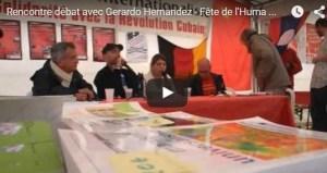 #video  Rencontre Débat avec GERARDO HERNANDEZ l'un de 5 de Miami, héro cubain de la lutte antiterroriste et anti impérialiste#FDH15 #cuba #PRCF