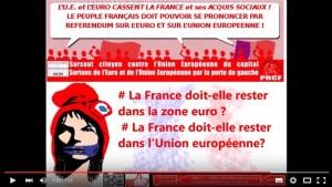 #vidéo Pourquoi signer la pétition pour un referendum sur l'euro et de l'UE #clip #UE #euro #referendum