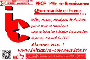 fond publicité Initiative communiste