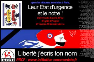 Etat d'urgence attaques attentats paris