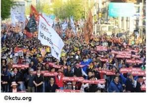 Corée du Sud : le régime réprime les syndicats