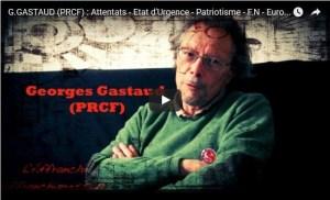 Vidéo : Attentats – Etat d'Urgence – Patriotisme – FN – Euro-Régions … Georges Gastaud répond aux questions de l'Affranchi