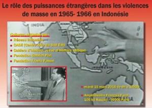 Colloque : Le rôle des puissances étrangères dans les violences de masse en 1965- 1966 en Indonésie – 15 mars 2016 – Paris
