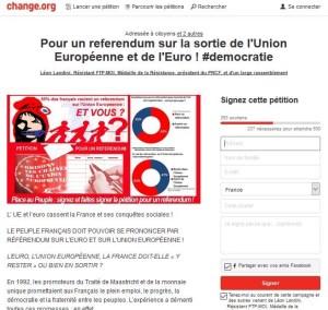 Pour un referendum sur la sortie de l'Euro et de l'Union Européenne : Mode d'emploi !