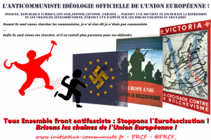 eurofascisation europe anticommuniste UE