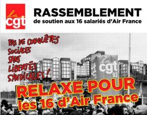 27 mai : manifestation de soutien aux Air France #airfrance #chemise #manif27mai