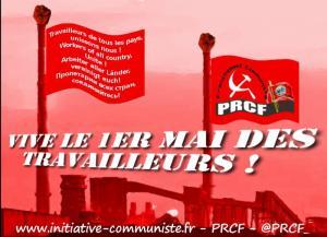 Vive le 1er mai des travailleurs – déclaration des partis communistes de l'Initiative CWPE
