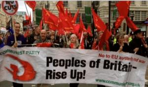 #brexit : Une victoire pour la souveraineté populaire, une défaite pour l'axe UE-FMI-OTAN. #brexit [Communist Party of Britain]