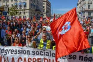 La FSM au coté de la CGT en France : discours de G Mavrikos à l'invitation de l'UD CGT 13 #vidéo