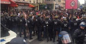 #justicepouradama la manifestation interdite, l'impunité policière dénoncée jusque dans les colonnes du New York Times.