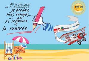 Envoyez votre carte postale pour le retrait de la Loi Travail  à Hollande ! C'est gratuit !