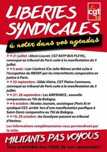 Militants, pas voyous ! Contre la répression politique, mobilisation démocratique! #loitravail
