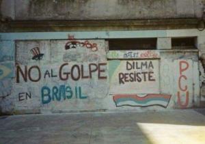Sur la situation au Brésil : Entretien avec Anita Leocadia Prestes #golpe et vidéo de la repression des manifestations pro démocratie !