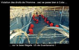 Les droits de l'homme à Cuba sont violés  : à Guantanamo, par les Etats Unis ! – par Léon Landini