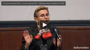 #vidéo 1870 une défaite choisie – conférence d'Annie lacroix Riz lors du Colloque Henri Guillemin 2016