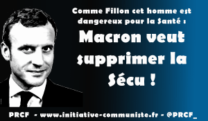 Emmanuel Macron veut supprimer la Sécu !