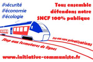 Trains : les usagers se mobilisent pour défendre leurs lignes ! #convergencerail