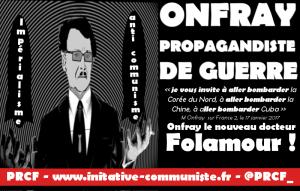 Michel Onfray propagandiste de guerre !