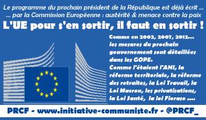 #GOPE 2017 #Présidentielle l'UE publie le programme du prochain président, pour y échapper, une nécessité, le FREXIT populaire ! dans - DROIT