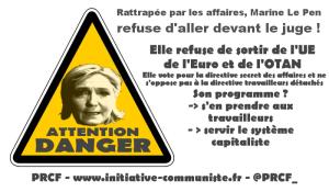 Le Pen, le FN c'est la casse du modèle social, des retraites, des salaires, des droits des travailleurs #pasunevoixaufn #vidéo