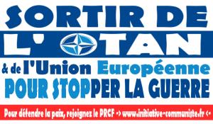 Syrie : dans toute l'Europe, les communistes appellent à défendre la paix en sortant de l'OTAN.